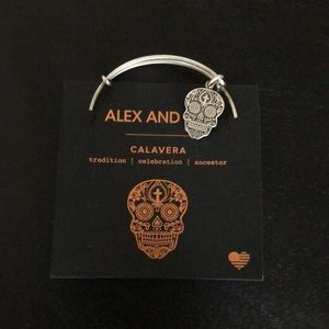 Alex And Ani Calavera day is the dead bracelet
